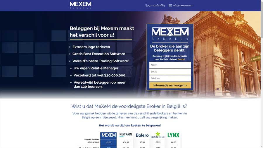 WebWinnaar - Een sterke landingspagina maken - Mexem