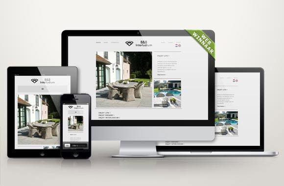 WebWinnaar - Webdesign BenB Interludium - Wij maken mooie nieuwe websites of webshops die hoog scoren in Google en andere zoekmachines