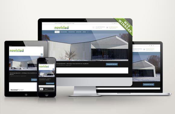 WebWinnaar - Webdesign Noviclad - Wij maken mooie nieuwe websites of webshops die hoog scoren in Google en andere zoekmachines